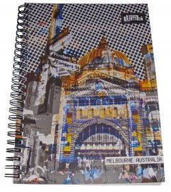 Notebook A5 Flinders Street Yellow