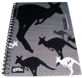 Notebook A5 Kangaroo Dots