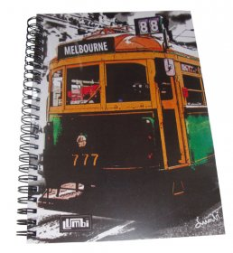 Notebook A5 Lucky Tram