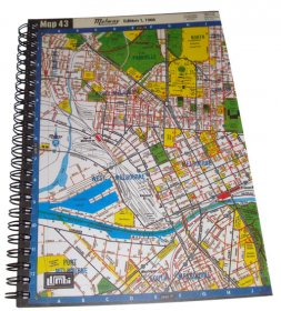 Notebook A5 Melway Map 43