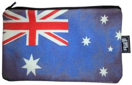 Pencil Case 18x10cm Australian Flag