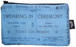 Pencil Case 18x10cm Swearing-In Ceremony Ticket
