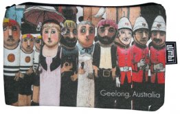 Pencil Case 18x10cm Geelong Bollards