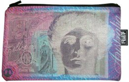 Pencil Case 18x10cm $100 Note Invert