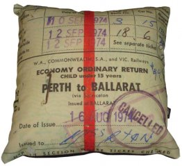 Cushion Perth to Ballarat Ticket