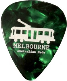 Guitar Pick Tram Green Pearl