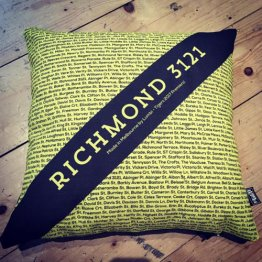 Cushion The Streets Sash Richmond 2017