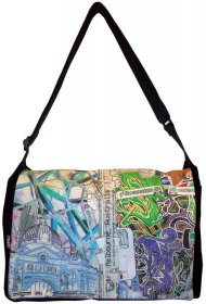 midi Satchel Bag 33x25x7cm Established Vs. Emerging Invert