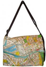 Midi Satchel 33x25x7cm Melway Map (available for most suburbs)