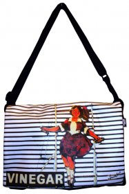 midi Satchel Bag 33x25x7cm Skipping Girl