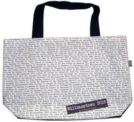 Shopper Bag 30x40x10cm The Streets White