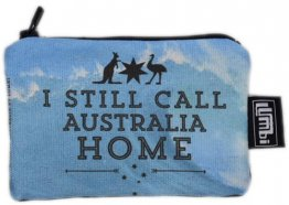 Ipod / Coin Case 13x9cm I Still Call Australia Home Wave