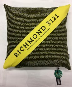 Cushion Yellow & Black Richmond Jumper Stripe Streets 2019