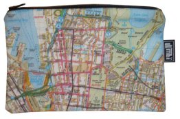 Pencil Case 18x10cm Sydways Sydney CBD Map
