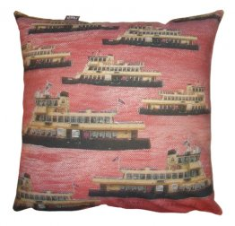 Cushion Ferries on Red