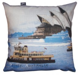 Cushion Sydney Harbour Blue