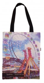 Tote Bag 40x33cm Sydney Wheel Bridge