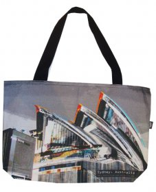 Shopper Bag 30x40x10cm Sydney Opera House