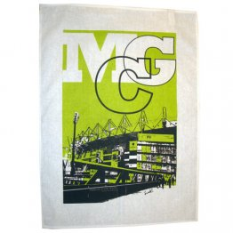 Tea Towel 50x70cm Linen/Cotton MCG Green