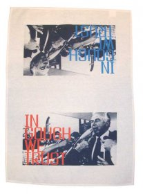 Tea Towel 50x70cm Linen/Cotton  In Gough We Trust Gough Whitlam