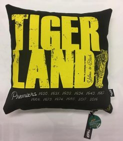 Cushion Yellow & Black Tiger Land Richmond Premiership