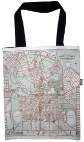 Tote Bag 40x33cm Adelaide Old Map