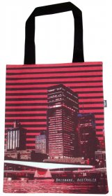 Tote Bag 40x33cm Brisbane Red