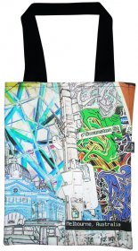 Tote Bag 33X40cm Established Vs. Emerging Invert