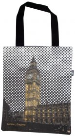 Tote Bag 33x40cm Big Ben England