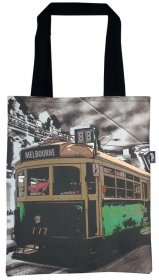 Tote Bag 33X40cm The Lucky Tram