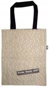 Tote Bag 33X40cm The Streets Tan