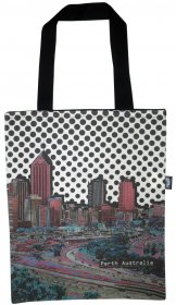 Tote Bag 40x33cm Perth Dots