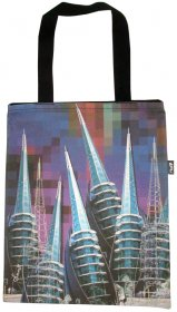 Tote Bag 33X40cm Bell Tower Shuffle