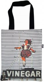 Tote Bag 40x33cm Skipping Girl