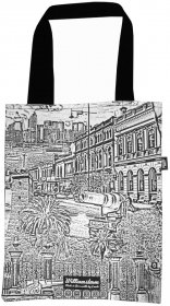 Tote Bag 33X40cm Williamstown Collage