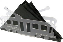 Tram Letter and Napkin Holder