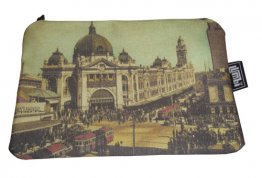 Pencil Case 18x10cm Ye-olde Flinders Street