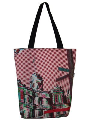 Large Tote 40x30x10cm Castlemaine Town Hall
