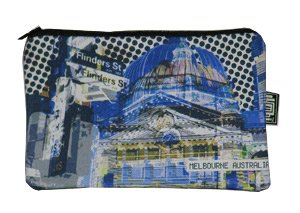 Pencil Case 18x10cm Flinders Street Blue