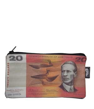 Pencil Case 18x10cm Old Money $20