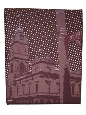 Art Canvas Small 20x25 Ballarat Town Hall