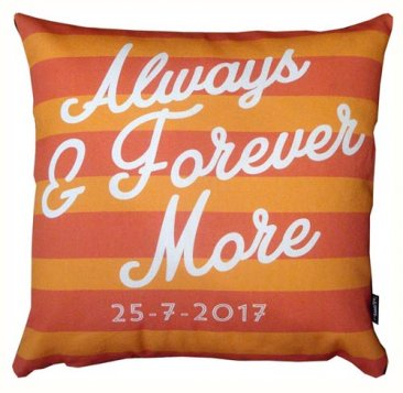 Cushion Always and Forever Red