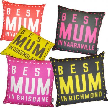 Cushion Best Mum Dots