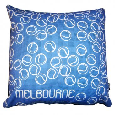 Cushion Melbourne Tennis Capital Blue