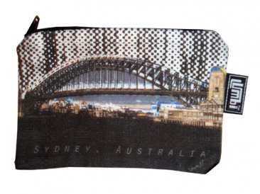 Ipod / Coin Case 13x9cm Harbour Bridge
