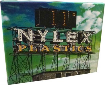 Canvas Art 20x25cm Nylex Plastic Clock Sign Green