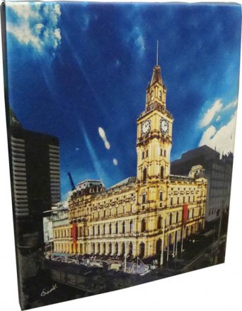 Canvas Art 20x25cm GPO Building