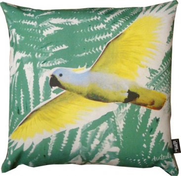 Cushion Cockatoo Green