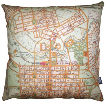 Cushion Adelaide Old Map