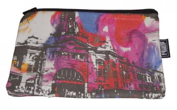Pencil Case 18x10cm Flinders St Colourific